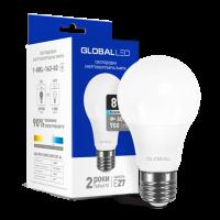 LED лампа GLOBAL A60 8W яркий свет 220V E27 (1-GBL-162-02)